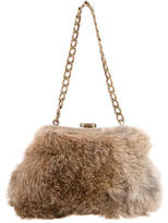 Michael Kors Rabbit Fur Demi Malibu Bag