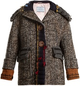 Prada Ribbed-edge tweed jacket