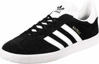 adidas Unisex Adults Gazelle Low-Top Sneakers Black (Core Black) 5.5 UK