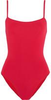 Eres Les Essentiels Aquarelle Swimsuit - Red