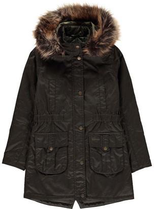 Barbour Girls Homeswood Waxed Jacket