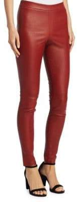 Theory Adbelle Leather Leggings