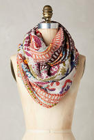 Anthropologie Caravan Embroidered Infinity Scarf
