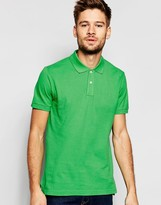 Esprit Slim Fit Short Sleeve Pique Polo Shirt