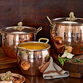 Ruffoni Historia Copper Artichoke-Handle Stock Pots