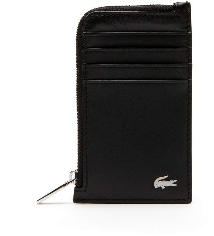 Lacoste Men's Fitzgerald Leather Card Holder