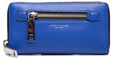 Marc Jacobs Women's Leather ¿gotham¿ Continental Wallet Blue.