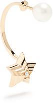 Delfina Delettrez Diamond, pearl & yellow-gold earring