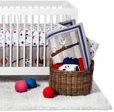 Peanuts 3-Piece Crib Bedding Set - Snoopy Sports