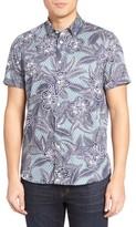 Ted Baker Men's Ontime Floral Sport Shirt