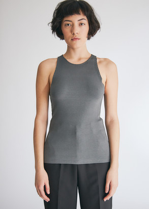 Stelen Women's Mica Tank Top in Charcoal, Size Large | Spandex