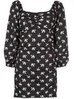 Sandy Liang floral mini dress