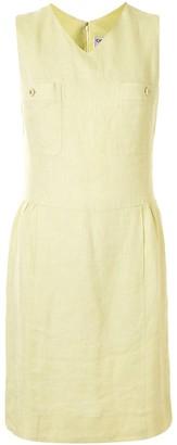 Chanel Pre Owned 1996 V-Neck Sleeveless Dress
