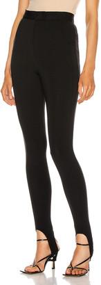 Altuzarra High Waisted Pant in Black | FWRD