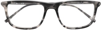 Lacoste Square-Frame Tortoiseshell Glasses