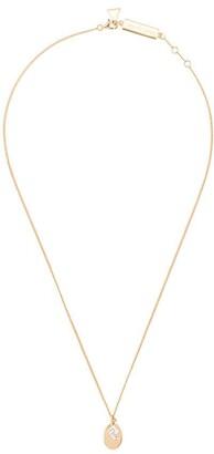 Coup De Coeur Stone Disc Necklace