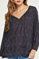 Love Stitch Lovestitch Oversized Eyelet Top