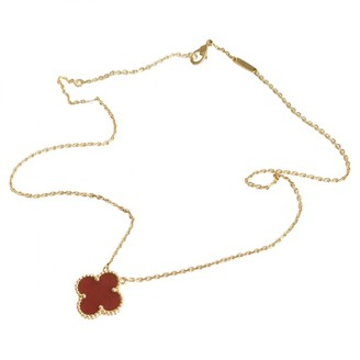 Van Cleef & Arpels Alhambra Gold Yellow gold Long necklaces