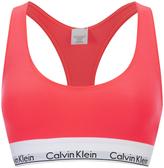 Calvin Klein Women's Modern Cotton Bralette Bright Nectar