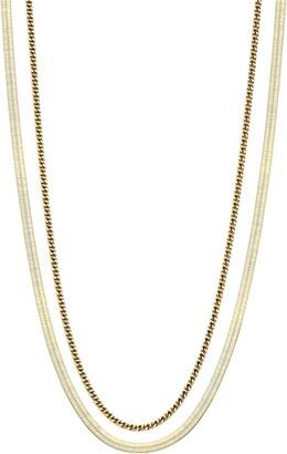 AJOA Lynx Layered Chain Necklace