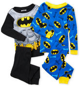Batman Boys 8-20) 4-Piece Pajama Set