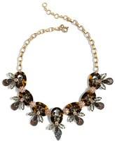 J.Crew Women's Faux Tortoise & Firefly Necklace