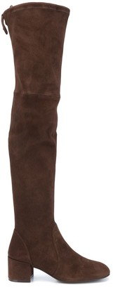 Stuart Weitzman Tieland over-the-knee stretch boots