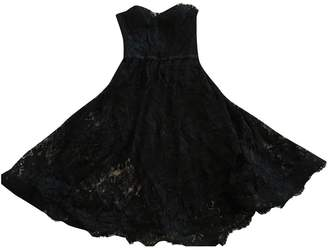 Chanel Black Lace Dress for Women Vintage