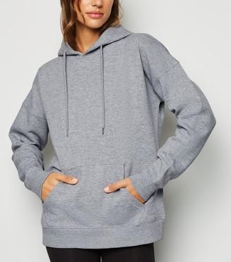 New Look Long Sleeve Jersey Hoodie