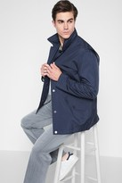 7 For All Mankind Boat Jacket In Navy