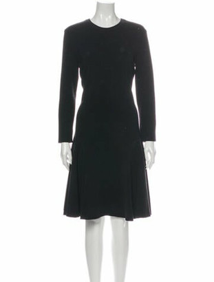 Lanvin 2013 Knee-Length Dress Wool