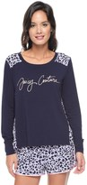 Juicy Couture Modal Jc Monarch Leopard Pullover