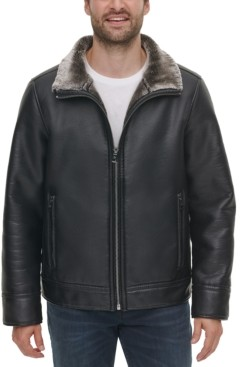 Calvin Klein Leather Jacket Mens | Shop the world's largest collection of  fashion | ShopStyle