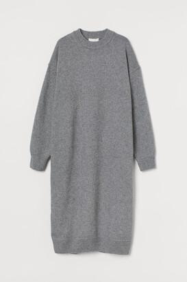 H&M Knit Dress - Gray