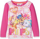 Nickelodeon Girl's Paw Patrol To The Skies Team Regular Fit T - Shirt