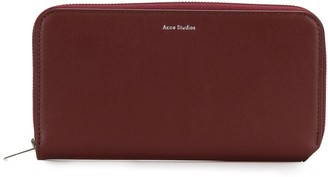 Acne Studios Fluorite S continental wallet