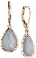 Nine West Stone Teardrop Drop Earrings