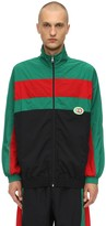 Gucci Waterproof Nylon Track Jacket