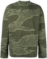Yeezy Season 3 camouflage print sweatshirt