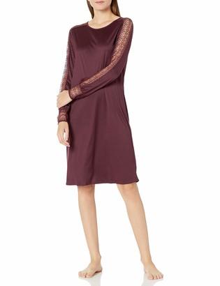 Hanro Women's Amanda Long Sleeve Gown