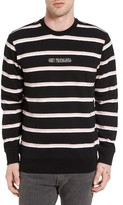 Obey Men's St. Clair Stripe Sweatshirt