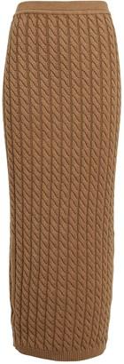 Ronny Kobo Ashley Cable Knit Tube Skirt