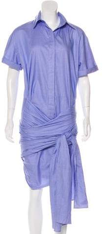 Stella McCartney Martine Wrap Dress