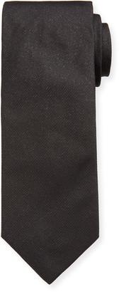 Eton Men's Formal Metallic Silk Tie
