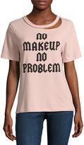 Freeze No Makeup No Problem Graphic T-Shirt- Junior