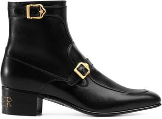 Gucci Sucker buckle boots