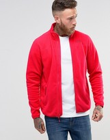 The North Face 100 Glacier Full Zip Fleece In Red