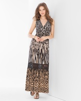 Soma Intimates Crochet Maxi Dress Ikat Cat