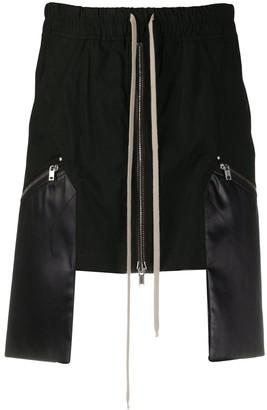 Rick Owens Performa contrast-pocket skirt