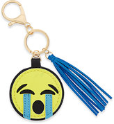 Macy's Inspired Life Sad Emoji and Tassel Keychain